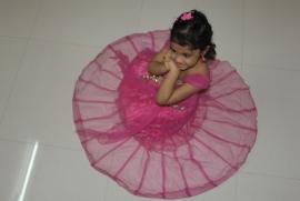 Varshitha in Pink Pink